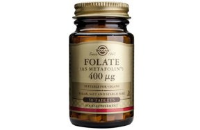 Solgar Folate 400μg (as Metafolin) 50Tabs