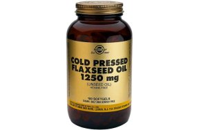 Solgar Cold Pressed Flaxseed Oil 1250mg, 100s