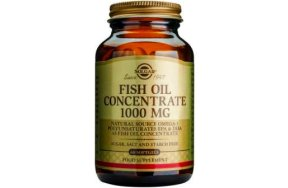 Solgar Fish Oil Concentrate (ιχθυέλαια) 1000mg 60s