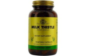 Solgar Milk Thistle Herb & Seed Extract 60V.Caps