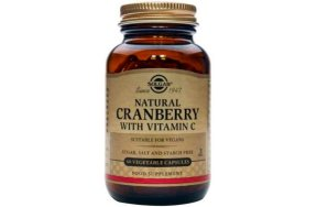Solgar Natural Cranberry with Vitamin C 60V.caps