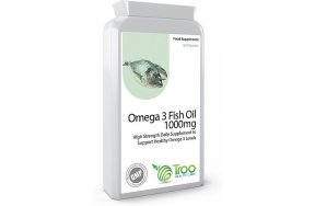 Troo Health Care, Omega 3 Fish Oil 1000mg, 90Caps