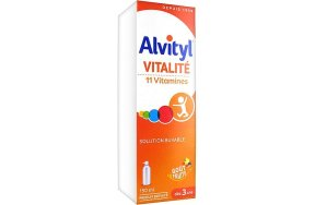 Urgo Alvityl Vitalite 11 Vitamins Multivitamined Solution 150ml