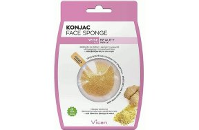 Vican Wise Beauty Konjac Face Sponge With Ginger Powder 1Τμχ