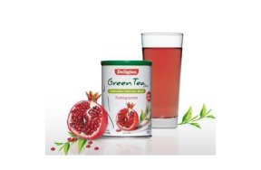 Deligios Green Tea Plus Ρόδι 230g