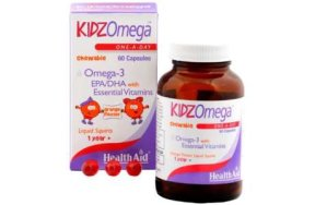 Health Aid KIDZ Omega with Vitamins 60Chew.Caps