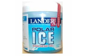 Landerx Polar Ice Analgesic Gel 226gr Πόνοι Αρθρώσεων