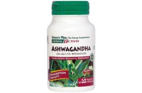 Nature''s Plus Ashwagandha 450mg 60V.Caps