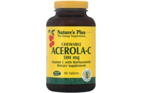 Nature''s Plus Acerola-c Complex 500mg 90Chew.Tabs