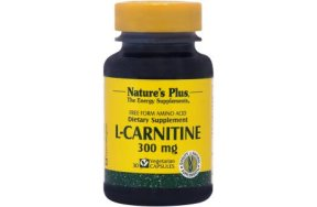 Nature''s Plus L-Carnitine 300mg 30V.Caps