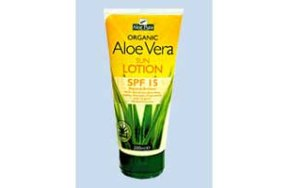 Optima Aloe Vera Sun Protection SPF 15 200ml