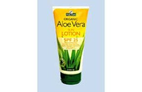 Optima Aloe Vera Sun Protection SPF 25 200ml