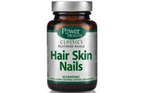 Power Health Classics Platinum Range Hair Skin Nails 30Caps